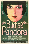 """Movie Posters:Foreign, Pandora's Box (Süd-Film, R-1990s). German Reproduction Poster (31"""" X 46""""). Foreign.. ..."""