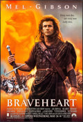 """Movie Posters:Action, Braveheart (Paramount, 1995). One Sheet (27"""" X 40"""") SS Advance. Action.. ..."""