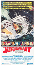 "Movie Posters:Action, Juggernaut (United Artists, 1974). Folded, Very Fine+.International Three Sheet (41"" X 77""). Robert McCall Artwork.Action...."
