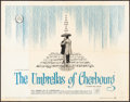 """Movie Posters:Foreign, The Umbrellas of Cherbourg (Allied Artists, 1965). Half Sheet (22"""" X 28""""). Foreign.. ..."""