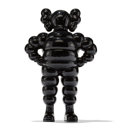 Fine Art - Sculpture, American:Contemporary (1950 to present), KAWS (b. 1974). Chum (Black), 2002. Cast resin. 12-5/8 x8-1/4 x 4-1/4 inches (32.1 x 21 x 10.8 cm) (toy). 14 x 9-1/2 x ...
