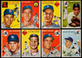 Baseball Cards:Lots, 1954 Topps Baseball Collection (168)....