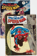 Magazines:Superhero, Spectacular Spider-Man #1 and 2 Group (Marvel, 1967-68) Condition:Average FN.... (Total: 2 Comic Books)