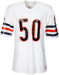 Football Collectibles:Uniforms, Mid 1980's Mike Singletary Game Issued Chicago Bears Jersey....