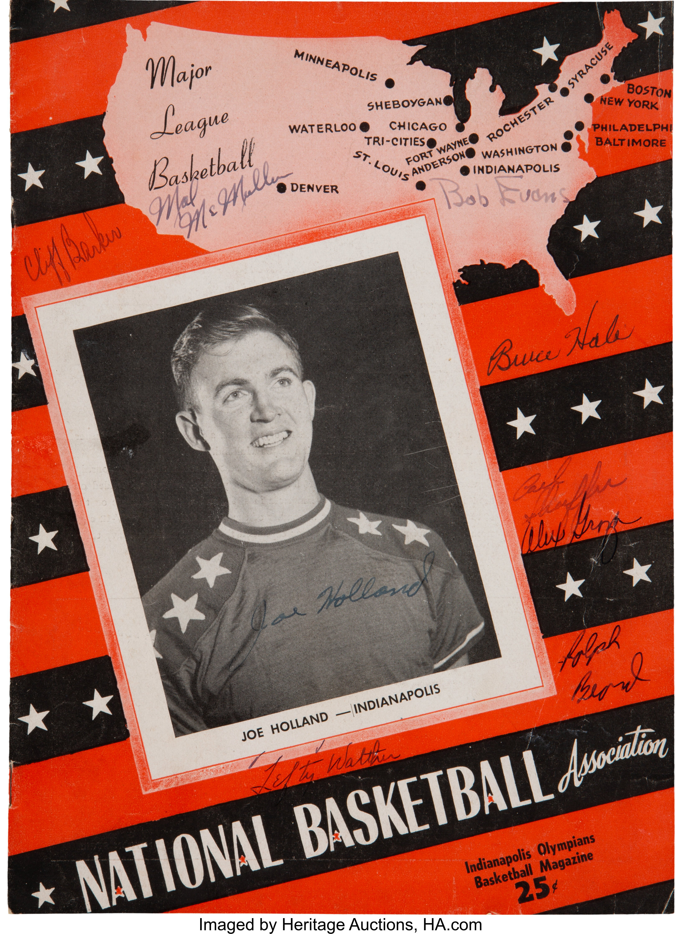 1949-50 Indianapolis Olympians & NBA Inaugural Season | Lot