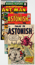 Silver Age (1956-1969):Superhero, Tales to Astonish/Marvel Feature Group of 5 (Marvel, 1963-72)....(Total: 5 Comic Books)