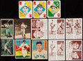 Baseball Cards:Lots, 1934-51 Diamond Stars, Batter Up, Double Play, Berk Ross and ToppsBaseball Collection (133). ...