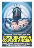 "Movie Posters:War, The Sea Wolves & Others Lot (Medusa, 1980). Italian 2 - Fogli (39.25"" X 55"") & Australian One Sheets (2) (27"" X 40""). War.. ... (Total: 3 Items)"