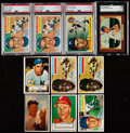 Baseball Cards:Lots, 1952-56 Topps And Bowman Baseball Collection (57). ...