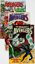 Silver Age (1956-1969):Superhero, The Avengers Group of 7 (Marvel, 1969-72) Condition: Average VF....(Total: 7 Comic Books)