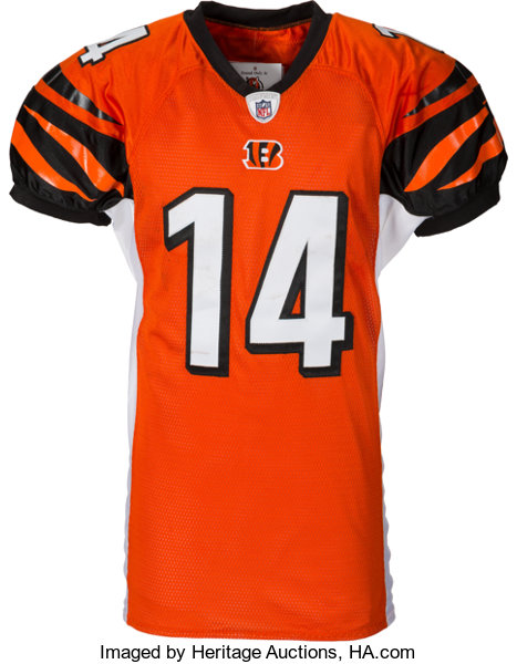 new products 6fca2 23dfd 2011 Andy Dalton Game Worn & Unwashed Rookie Cincinnati ...