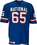 Football Collectibles:Uniforms, 1972 Tom Mack Pro Bowl Game Worn & Signed Jersey....
