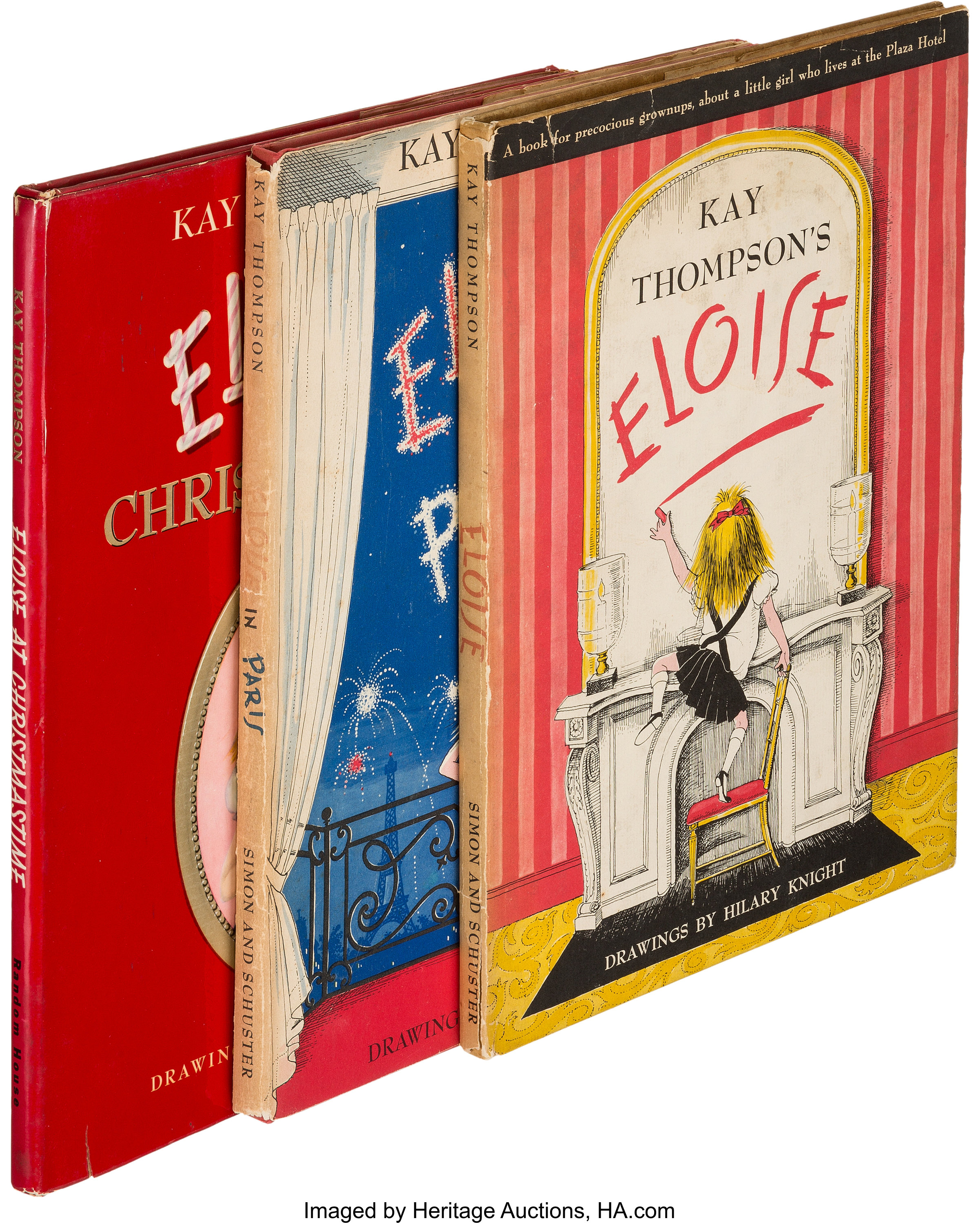 Eloise At The Plaza Book
