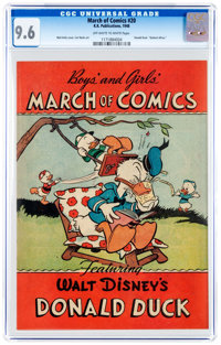March of Comics #20 (K. K. Publications, Inc., 1948) CGC NM+ 9.6 Off-white to white pages