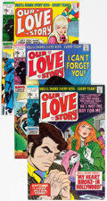 Silver Age (1956-1969):Romance, Our Love Story #2 and 4-6 Group (Marvel, 1969-70) Condition:Average FN+.... (Total: 4 Comic Books)