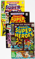 Silver Age (1956-1969):Superhero, Marvel Super-Heroes Group of 16 (Marvel, 1966-71) Condition:Average FN.... (Total: 16 Comic Books)
