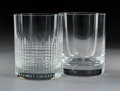 Decorative Arts, French:Other , Sixteen Baccarat Crystal Tumblers, Baccarat, France, 20th century .Marks: BACCARAT, FRANCE. 4-3/4 x 3-3/4 inches (12.1 ...(Total: 16 Items)