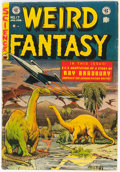 Golden Age (1938-1955):Science Fiction, Weird Fantasy #17 (EC, 1953) Condition: VG+....