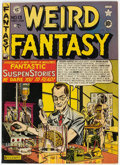 Golden Age (1938-1955):Science Fiction, Weird Fantasy #13 (#1) (EC, 1950) Condition: Apparent VG+....