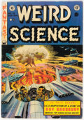 Golden Age (1938-1955):Science Fiction, Weird Science #18 (EC, 1953) Condition: VG+....