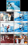 """Movie Posters:James Bond, Diamonds are Forever & Other Lot (MGM/UA, R-1984). Lobby Cards (7) (11"""" X 14""""). James Bond.. ... (Total: 7 Items)"""