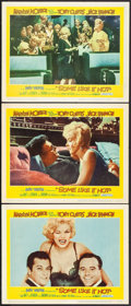 """Movie Posters:Comedy, Some Like It Hot (United Artists, 1959). Lobby Cards (3) (11"""" X14""""). Comedy.. ... (Total: 3 Items)"""