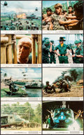 """Movie Posters:War, Apocalypse Now (United Artists, 1979). Mini Lobby Card Set of 8 (8""""X 10""""). War.. ... (Total: 8 Items)"""