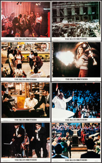 """The Blues Brothers (Universal, 1980). Mini Lobby Card Set of 8 (8"""" X 10""""). Comedy. ... (Total: 8 Items)"""