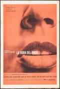 "Movie Posters:Foreign, Stolen Kisses (United Artists, 1968). Argentinean One Sheet (29"" X 43.25""). Foreign.. ..."