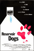 "Movie Posters:Crime, Reservoir Dogs (Miramax, 1992). Cannes One Sheet (26.75"" X 39.75"").Crime.. ..."