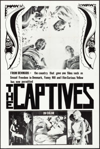 """The Captives (Unknown, 1970). One Sheet (28"""" X 42""""). Exploitation"""