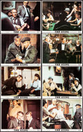 "Movie Posters:Crime, The Sting (Universal, 1973). Mini Lobby Card Set of 8 (8"" X 10"").Crime.. ... (Total: 8 Items)"