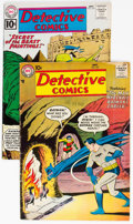 Silver Age (1956-1969):Superhero, Detective Comics #247 and 295 Group (DC, 1957-61) Condition:Average VG+.... (Total: 2 Comic Books)