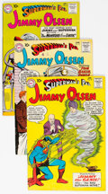 Silver Age (1956-1969):Superhero, Superman's Pal Jimmy Olsen Group of 12 (DC, 1960-66) Condition:Average VG/FN.... (Total: 12 Comic Books)