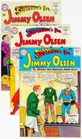 Silver Age (1956-1969):Superhero, Superman's Pal Jimmy Olsen Group of 6 (DC, 1963-66) Condit...