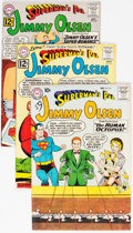 Silver Age (1956-1969):Superhero, Superman's Pal Jimmy Olsen Group of 5 (DC, 1959-64) Condit...