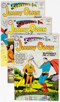 Silver Age (1956-1969):Superhero, Superman's Pal Jimmy Olsen Group of 8 (DC, 1959-65) Condit...
