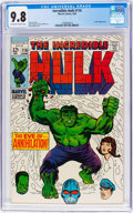 Silver Age (1956-1969):Superhero, The Incredible Hulk #116 (Marvel, 1969) CGC NM/MT 9.8 Off-white towhite pages....