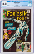 Silver Age (1956-1969):Superhero, Fantastic Four #50 (Marvel, 1966) CGC VF 8.0 White pages.