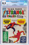Silver Age (1956-1969):Superhero, Strange Tales Annual #2 (Marvel, 1963) CGC VF+ 8.5 White pages....