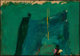 Franz Kline (American, 1910-1962) Green Painting, 1959 Oil on paper laid on acrylic panel 12-3/4 x 18-1/4 inches (32...