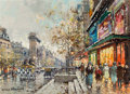 Paintings, Antoine Blanchard (French, 1910-1988). Porte St. Denis. Oil on canvas. 13 x 18 inches (33.0 x 45.7 cm). Signed lower lef...