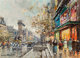 Antoine Blanchard (French, 1910-1988) Porte St. Denis Oil on canvas 13 x 18 inches (33.0 x 45.7 cm) Signed lower lef...