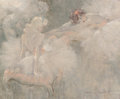 Paintings, Louis Icart (French/American, 1888-1950). Attitudes. Oil on canvas. 19-1/2 x 24 inches (49.5 x 61.0 cm). Signed lower ri...