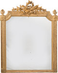Furniture , A Large Louis XVI-Style Giltwood Mirror Frame, early 20th century. 55 x 45-1/2 inches (139.7 x 115.6 cm). PROPERTY FRO...