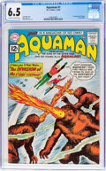 Silver Age (1956-1969):Superhero, Aquaman #1 (DC, 1962) CGC FN+ 6.5 Off-white to white pages....