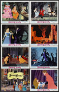 "Movie Posters:Animated, Sleeping Beauty (Buena Vista, R-1970). Lobby Card Set of 8 (11"" X14""). Animated.... (Total: 8 Items)"