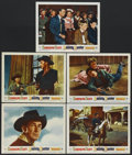 "Movie Posters:Western, The Bounty Hunter (Warner Brothers, 1954). Lobby Cards (5) (11"" X 14""). Western.... (Total: 5 Items)"