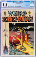 Golden Age (1938-1955):Science Fiction, Weird Science-Fantasy #28 (EC, 1955) CGC NM- 9.2 Off-white to whitepages....
