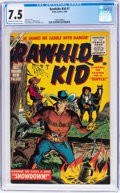 Silver Age (1956-1969):Western, Rawhide Kid #7 (Marvel, 1956) CGC VF- 7.5 Cream to off-whitepages....
